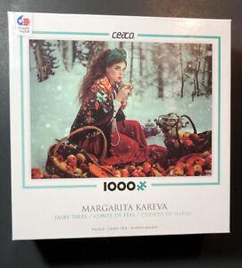 Ceaco Jigsaw Puzzle 1000 Piece [ Margarita Kareva Fairy Tales Series 1 / 2 ] NEW
