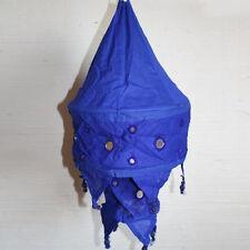 Lampe Lampe Suspendue Lampe Fluorescente Lampion Abat-Jour en Coton Bleu 2 S