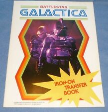 Battlestar Galactica Vintage Iron-On Patch Book Vintage 1979
