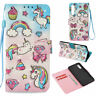 3D Pattern Flip Wallet PU Leather Case Cover Stand Card Holder For Samsung Phone