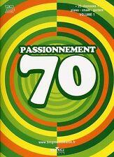 Partition pour guitare/piano/voix - Passionnément 70