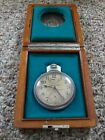 "Hamilton Model 22 Chronometer Watch  In Wooden-Box,""Nice Running Condition"" L@@K"