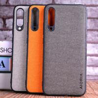 Case for Xiaomi Mi A3 A1 A2 Lite Luxury Textile leather Skin phone case cover