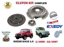 Per SUZUKI SJ SJ410 Santana 1.0 VAN PICK-UP F10A 1/1985 -1987 3 Pezzi Kit Frizione
