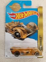Hot Wheels 2017 mailaway Special Gold Edition Hi-Tech Missile  Long Card Rare
