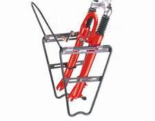 XLC Lowrider Aluminium für Federgabel Gepäckträger Schwarz MTB Trekking