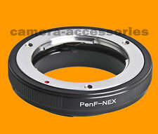 Olympus Pen F FT FV Lente a Sony NEX E-Mount Adapter Ring for NEX-5 NEX-C3 VG10