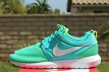 NIKE ROSHERUN NM BR SZ 7 LIGHT RETRO WHITE VOLT ROSHE BREEZE 644425 402