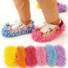 Popular Chenille Shoe Cover Floor Dust Cleaning Slippers Mop Wipe Lazy Slippers