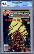"Crisis on Infinite Earths #8 (1985, DC) ""Death"" of Flash (Barry Allen) Newsstand"