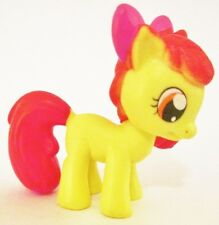 APPLE BLOOM My Little Pony FRIENDSHIP IS MAGIC TV PVC TOY Figure CUP CAKE TOPPER