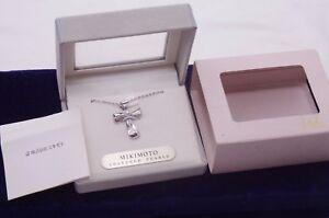 MIKIMOTO pendant akoya pearl silver (with MIKIMOTO chain)