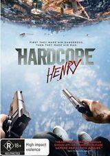 Hardcore Henry (Dvd) Action, Adventure, Sci-Fi, Sharlto Copley, Tim Roth