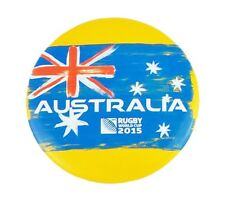 Official RUGBY WORLD CUP 2015 Australia Button Badge Union Badges Pin Gift