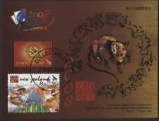 New Zealand 2008 Chinese Year of the Rat, Singapore Exhibition mini sheet used
