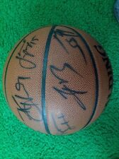 Spalding basketball signed by various Bulls players except Jordan for me