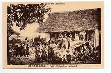 MADAGASCAR colonie française Petits malgaches s'amusant