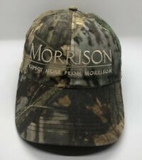 Morrison Cap Hat Adult Adjustable Camo 100% Cotton Whirpool