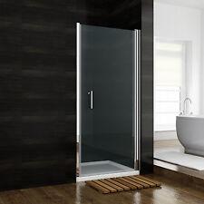 70x185 cm Duschabtrennung Duschkabine Nische Duschtür Dusche Schwingtür Echtglas