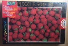 Puzzle 500 Piezas - Fresas - Fragrance Series - Puzzle Con Aroma - Educa