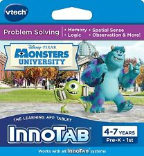 VTech InnoTab Learning Software Monsters University 80-231900 3417762319009