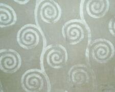 ANDREW MARTIN Tornado Ivory viscose cotton geometric swirls soft 2+ yards new