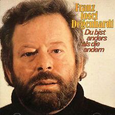 FRANZ JOSEF DEGENHARDT - DU BIST ANDERS ALS DIE ANDEREN NEW CD