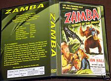 ZAMBA - DVD - Jon Hall, June Vincent, Beau Bridges