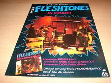 THE FLESHTONES - CONCERT!!!!!!!!!!!! PUBLICITE / ADVERT