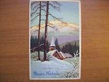 CARTOLINA POSTCARD BUON NATALE 1961 CECAMI C/25 VIAGGIATA ( C11 )