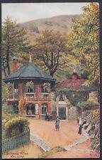 Worcestershire Postcard - St Ann's Well, Malvern - Artist A.R.Quinton  RS5519