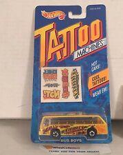 Bus Boys * Yellow * Tattoo Machines Hot Wheels * B24