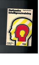Siegfried Brockert - Optimales Intelligenztraining - 1972