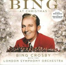 BING CROSBY THE LONDON SYMPHONY ORCHESTRA – BING AT CHRISTMAS (NEW) CD