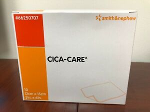 Smith & Nephew Cica-Care Silicone Gel Sheet 5 x 6 in. case of 10  exp 12/24