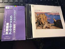 "Al Di Meola ""Cielo e Terra"" JAPAN cd with OBI CP32-5060"