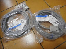OMRON LIMIT SWITCHES -- QUANTITY of 2 -- PLUNGER HEAD Pre-wired -- D4C-1633