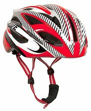 Aerolite™ AeroStream™ Men's Gents Race In Mould Bicycle Helmet Red Size 58-61cm