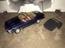 NEW Franklin Mint 1973 Mercedes 450 SL Magnetic Blue Precision Model B11YE69