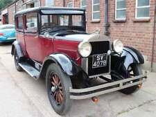 1928 Hudson Essex Super Six Right Hand Drive Totally Original Burgundy Black