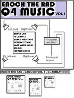 ENOCH THE RAD Q4MUSIC VOL 1  quadraphonic QUAD REEL TO REEL TAPE