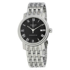 Tissot T-Classic Bridgeport Powermatic 80 Black Dial Stainless Steel Mens Watch