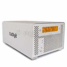 CalDigit VR 2 To Terabyte Dual-Bay RAID Drive Mac PC FW800 FW400 USB 2.0 eSATA