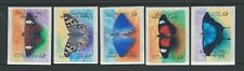 Australie 1998 papillons adhésif Lot de 5 Non montés excellent état, MNH