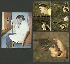 Guns & Hand Guns Detective Vintage German Collector Cards