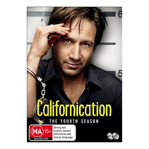 Californication: Season 4 DVD (2 Disc Set) Brand New Region 4 - David Duchovny