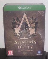 Assassins Creed Unity Bastille Edition Assassin's XBOX ONE PRECINTADO PAL UK COMO NUEVO