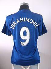 IBRAHIMOVIC #9 NUOVO con etichetta MANCHESTER UNITED AWAY FOOTBALL SHIRT JERSEY 2016/17 (M)