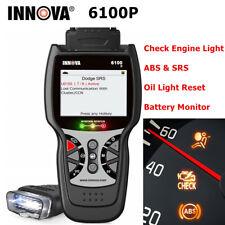 Car Scanner ABS SRS Engine Emission System Diagnostic Tool Oil Reset Code Reader