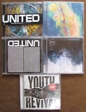 5 Hillsong Music CD's Glorious Ruins, Young & Free, Empires, Tear Down The Walls
